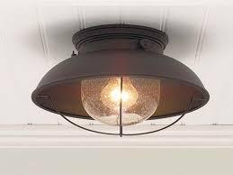 image of best outdoor flush mount light