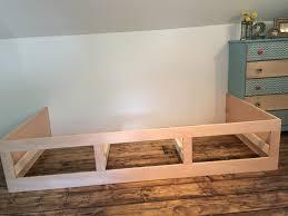 Diy Built In Storage Remodelaholic Beautiful Built In Bed Nook With Storage Drawers