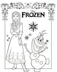 Disegni Da Colorare Disegni Da Colorare Frozen Anna Elsa