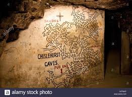 Caves Alamy At Of Chislehurst Photo - 34967927 Stock Map Entrance Caves The