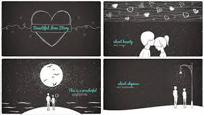 After Effects Story Book Template Beautiful Love Story