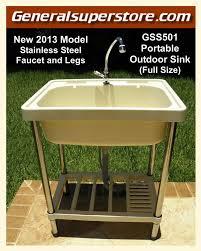 outdoor kitchen sink station fresh best 25 outdoor sinks ideas on