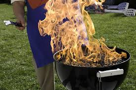 safe ways to get the charcoal burning with or without lighter fluid
