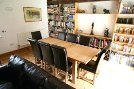 cosgrove extendable oak dining table and 6 cream chairs. full image for 8 seater extending dining table sets cosgrove extendable oak and 6 cream chairs n