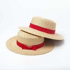 Image result for boater hat straw