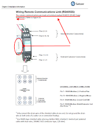 monitoring satcon inverters satcon installation manual detail