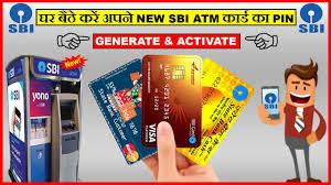 how to generate sbi atm debit card pin through atm machine net banking