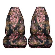 camouflage camo car front seat cover