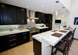 Modern Kitchen Remodeling Furniture Ultra Modern Kitchen With Rectangle Dark Brown Kitchen