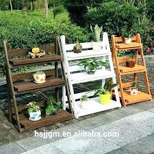 3 tier plant stand indoor flower plant stands 3 tiered wooden stand tiered garden stand garden
