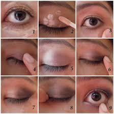 eyeshadow tutorial easy step by step how on your pinkie finger take the darker shadow i am using a glittery black shadow here