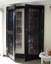 exceptional security door for sliding glass door security door for