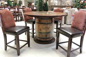 whiskey barrel chairs stylist and luxury whiskey barrel furniture bring home your very own table today vintage whiskey barrel table and chairs