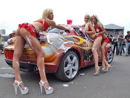 Girls ad the cars wash YouTube