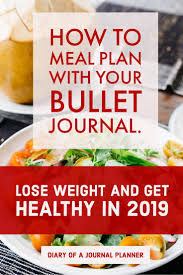How To Use A Bullet Journal Meal Planning System