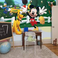 mickey mouse clubhouse wall art
