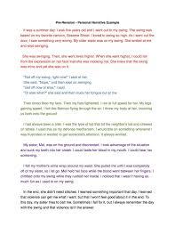 a narrative essay narrative essay examples for colleges writing narrative essay