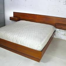 twin platform bed frame. Platform Bed Frame King Furniture Beds Queen Headboard With Attached Nightstands Twin