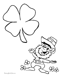 Small Picture leprechaun coloring pages