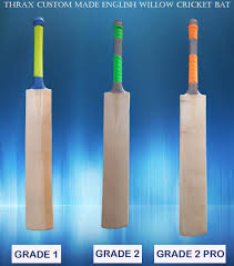 New And Innovative Thrax Custom Made English Willow Cricket