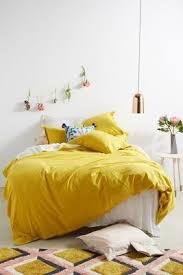 Yellow - Duvet Covers - Boho & Linen Duvet Covers   Anthropologie &  Adamdwight.com