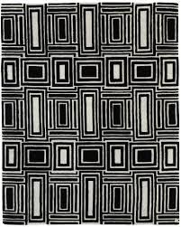 eli black white handmade rugs carpet custom luxury unique handmade wool