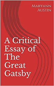 literary criticism on the great gatsby book how to write a english major senior thesis ideas