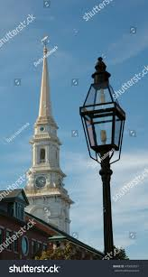 North Light The Way Lamp Light Way Old North Church Stock Photo Edit Now 470607521