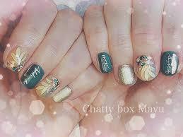 At Chattyboxmayu Chatty Box Mayu Nail Salon ボタニカル風
