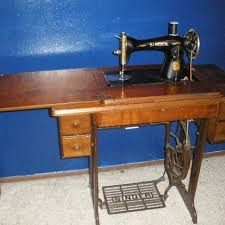 Old Treadle Sewing Machines For Sale