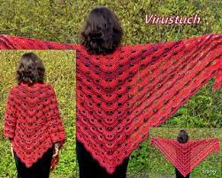 Virus Shawl Crochet Pattern Classy Virus Shawl Virustuch Pattern By Julia Marquardt CROCHET
