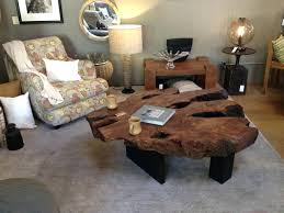 burl wood coffee table red uk redwood tables large