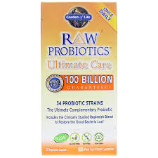 raw probiotics ultimate care from garden of life contains ings that may help you re the probiotic balance in your gastrointestinal gi tract