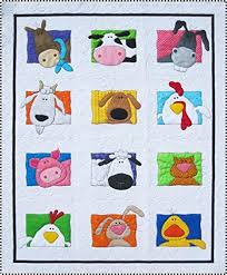 Animal Quilt Patterns Gorgeous Animal Whimsy Quilt Pattern Amy Bradley Designs