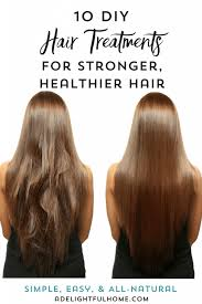 10 homemade natural hair treatments