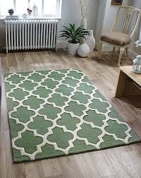 arabesque sage green rug