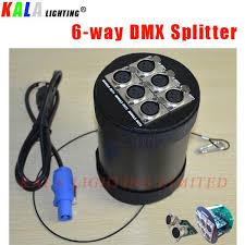 new dj lighting equipment high strong dmx512 signal transmission 6 way dmx modular mode splitter amplifier dmx splitter dmx signal amplifier dmx 512
