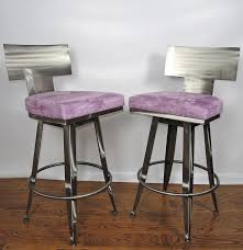 contemporary klismos steel bar stools by johnston casuals  ebth