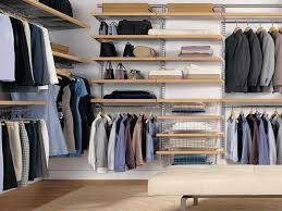 how to organize a walk in closet on