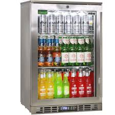 rhino 1 door heated glass door bar fridge brand parts ensures longevity great warranty