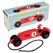 rex london pull toy vintage racer