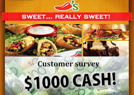 chilis customer service chilis guest experience survey win 1000 daily sweepstakesbible