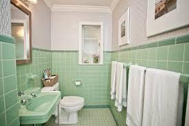 vintage mint green bathroom ...