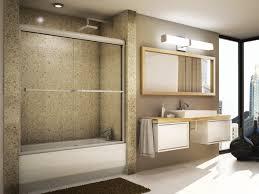 semi frameless sliding tub doors high resolution photo
