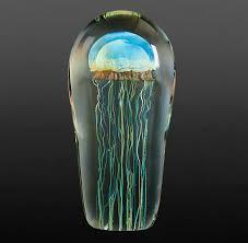 moon jellyfish sculpture
