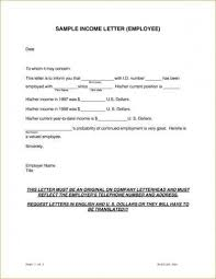How To Request Employment Verification Letter From Employer 9 Income Verification Letter Examples In Pdf Examples