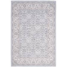 safavieh carmel light blue ivory 5 ft x 8 ft area rug