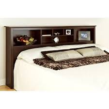Edenvale King Storage Headboard, Espresso - Prepac Furniture