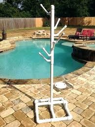 outdoor towel rack outdoor towel rack outdoor towel tree palm tree outdoor towel rack cast aluminum