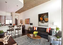 Apartment Living Room Ideas On A Budget Dark Gray Wall Color Small